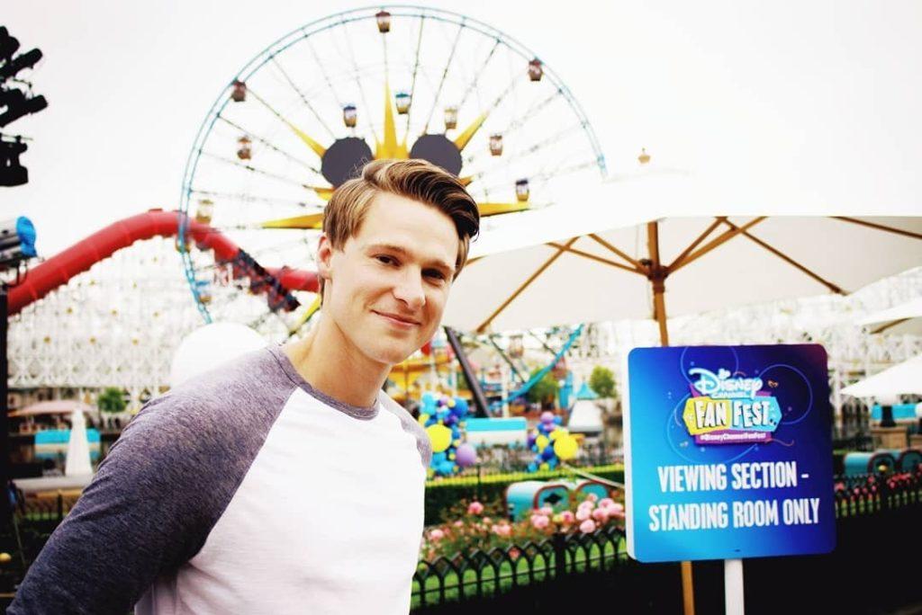 Gabe at Disneyland.